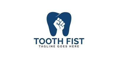 Tooth Fist Logo Design