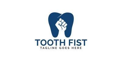 Tooth Fist Logo Design