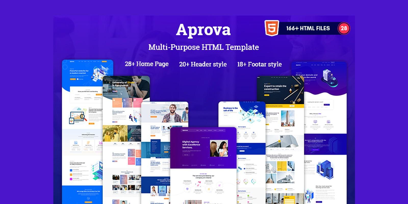 Aprova - MultiPurpose Responsive  HTML5 Template
