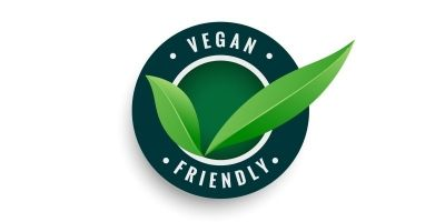 Vegan Logo Vector EPS file
