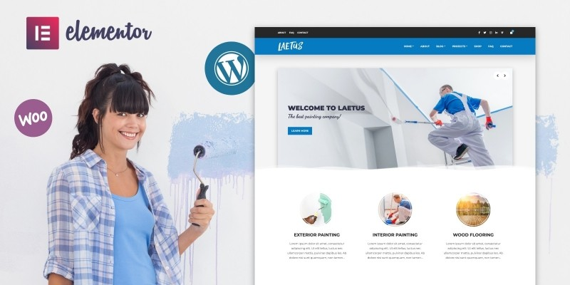 Laetus - WordPress Theme