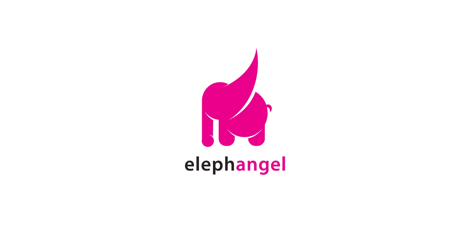 Elephant angel Logo
