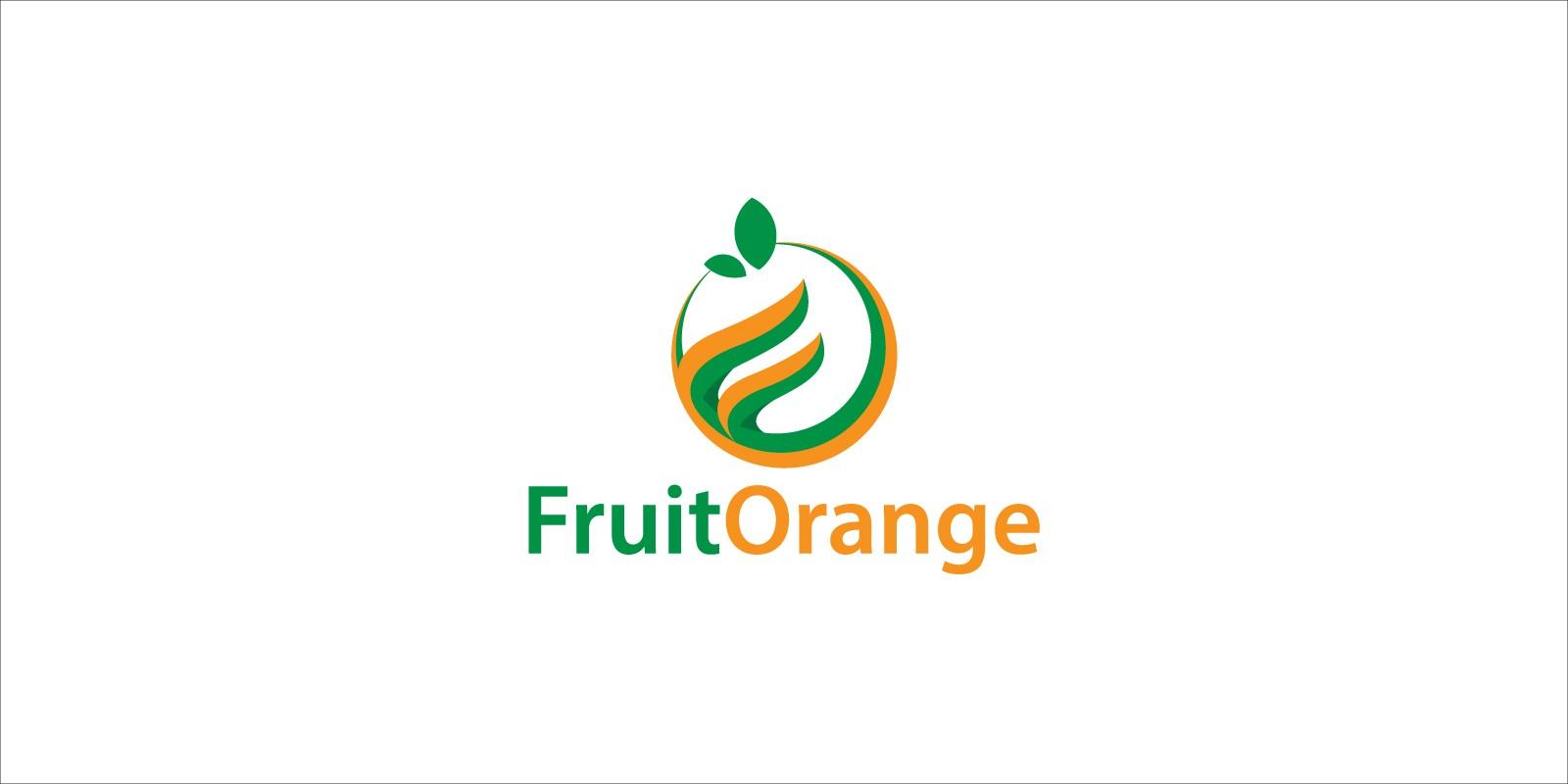 Fruit Orange Logo