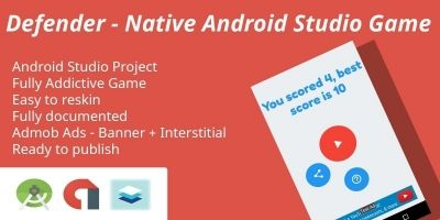 Defener - Native Android Studio source code