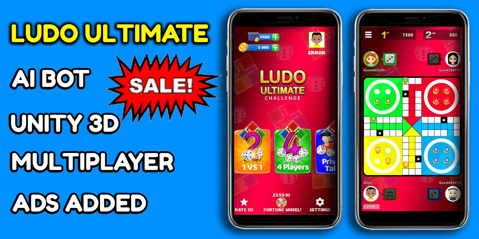 ​Ludo Ultimate Unity Game Source Code