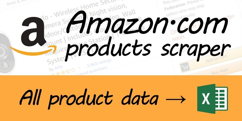 Amazon Scraper .NET Source Code