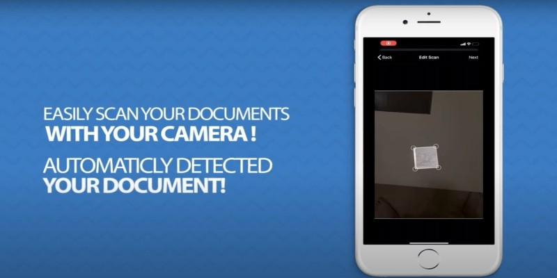 Fast PDF Document Scanner iOS Source Code