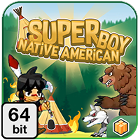Super Boy 64 bit - Buildbox Template