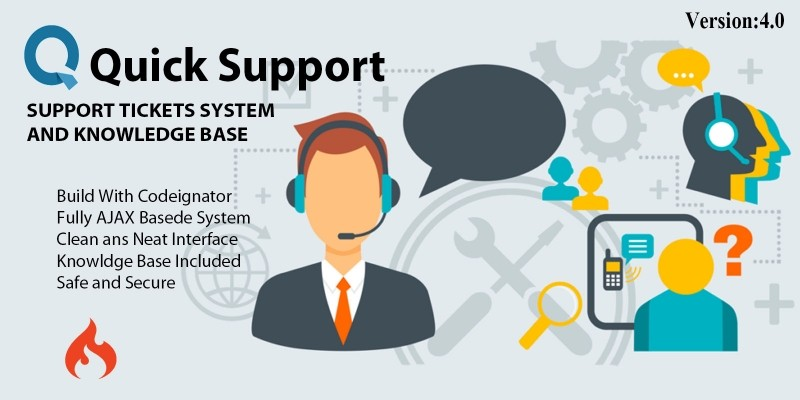 Quick Support Tickets System And Knowledge Base