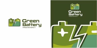 Green Battery Logo