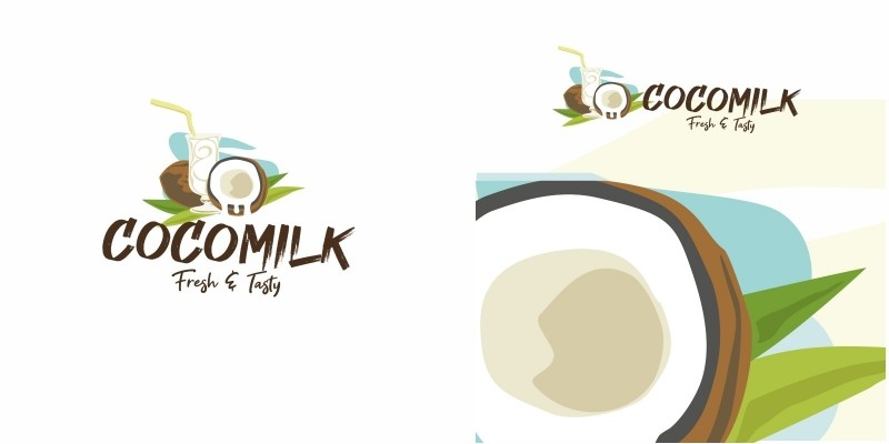 Coconut Milk Logo