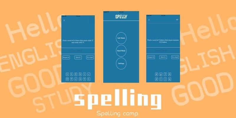 Word Spelling iOS Source Code