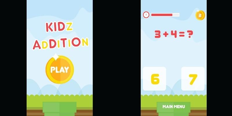 Kidz Addition Construct 2 Game Template