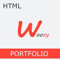 Woozy - Responsive Bootstrap 4 One Page Portfolio