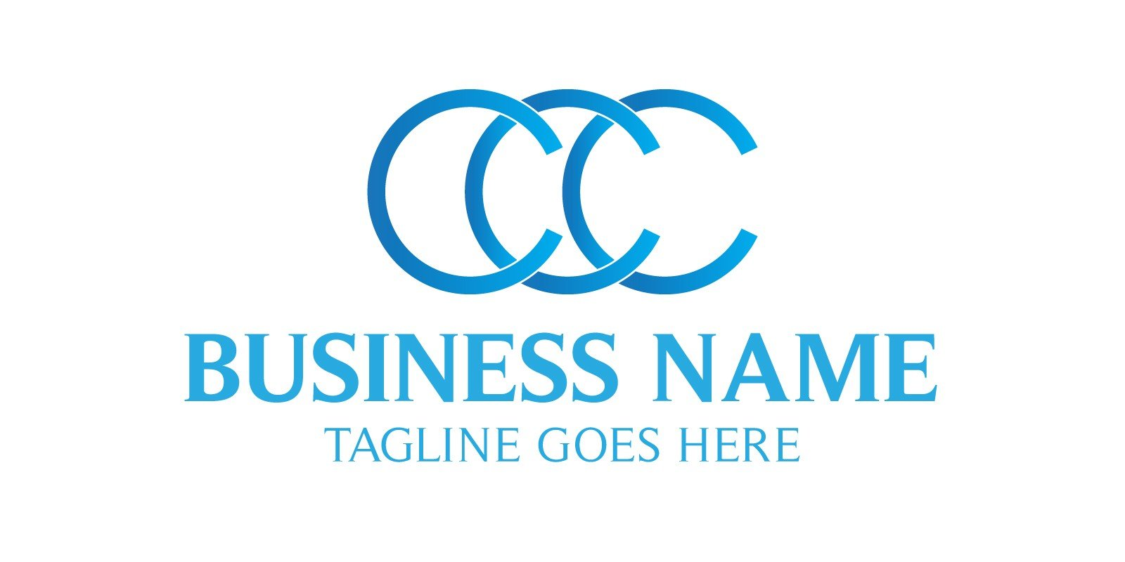 Three C Letter Logo