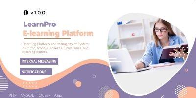 LearnPro - Elearning Platform