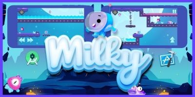 Milky - Android and iOS game Made With BuildBox