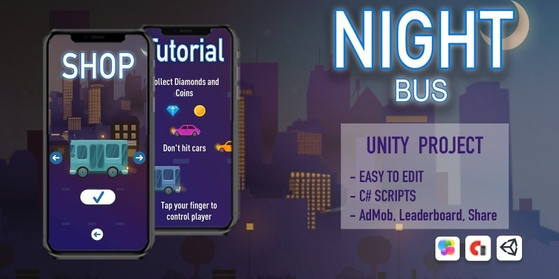 Night Bus - Unity Source Code