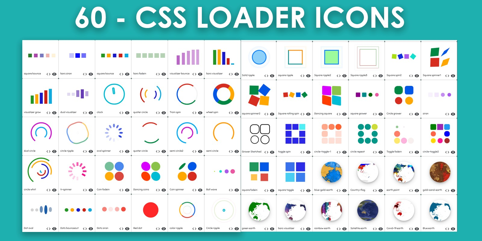 60 CSS3 Loaders With Unique Effect