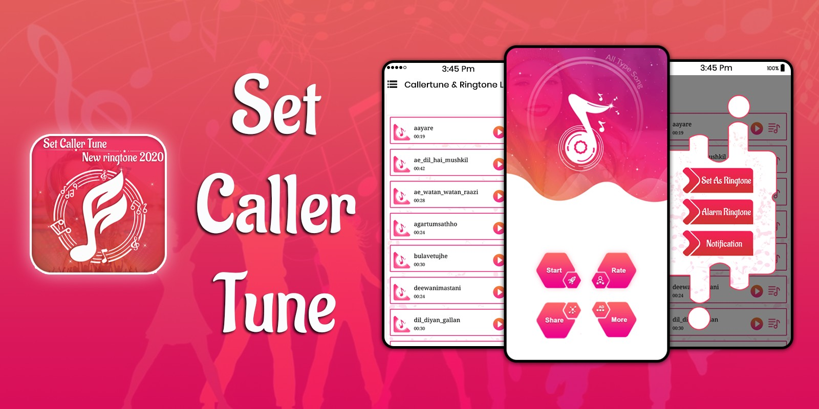 Set Caller tune Song - Android Source Code