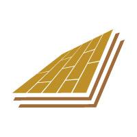 Flooring Parquet Wooden Logo