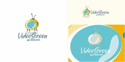 Video Screen Logo