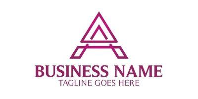 Line A Letter Logo