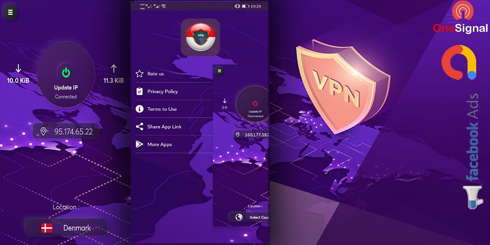 VPN Android Studio Template