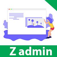 ZAdmin PHP Admin Panel