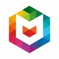 Magistrator M letter Colorful Logo