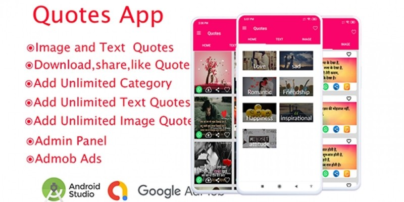 Quotes App Android Source Code