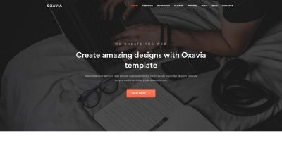 Oxavia - Responsive One Page Template