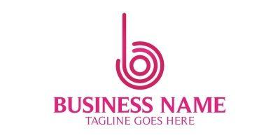Be lines B Letter Logo