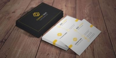 Simple and Creative Business Card Template