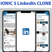 Ionic 5 LinkedIn Clone Template