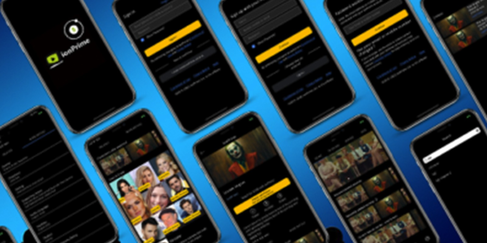 Ionic 5 Video Streaming App template