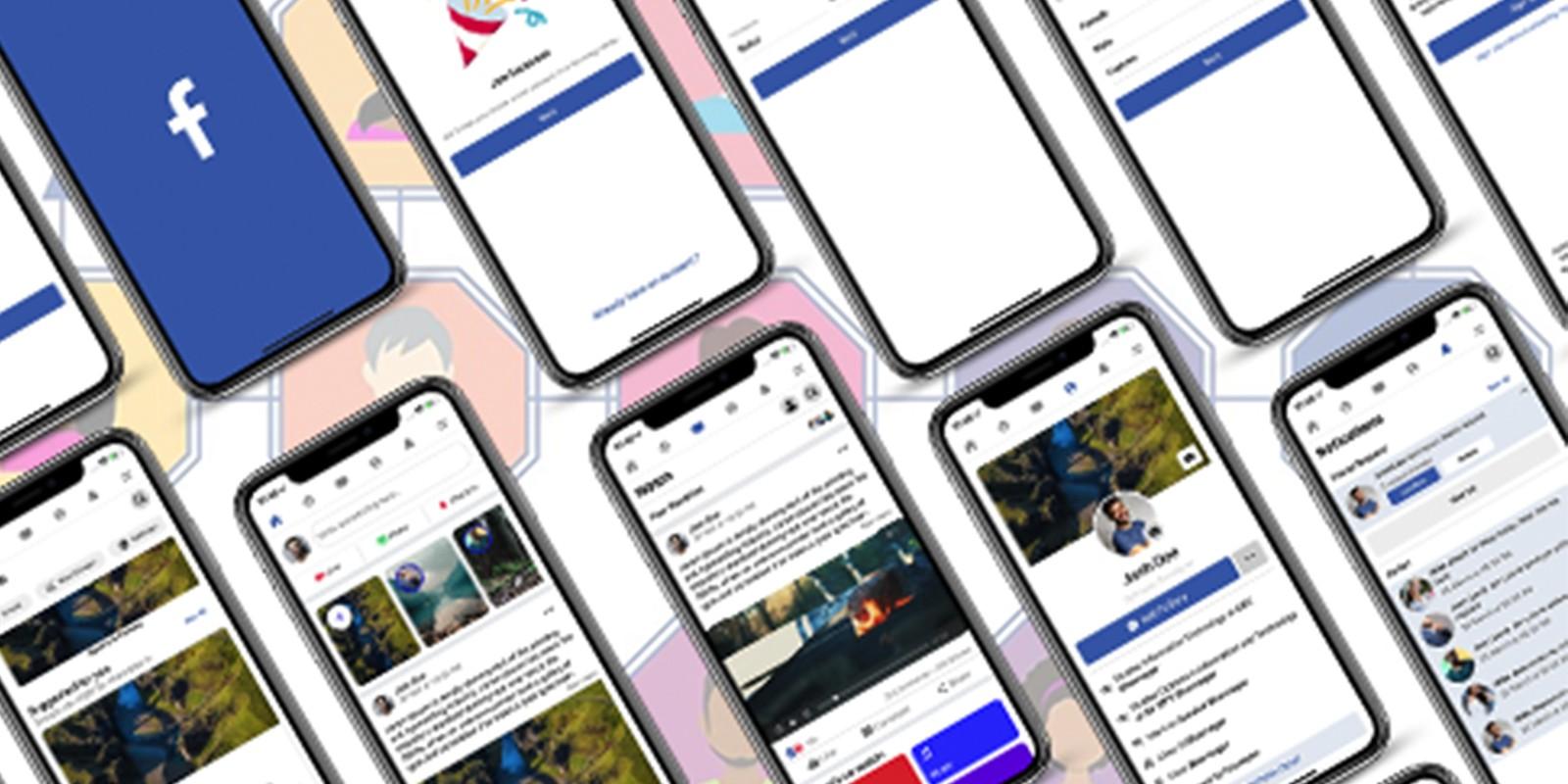 Ionic 5 Facebook Clone Template