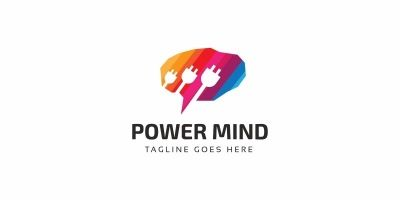 Power Brain Logo