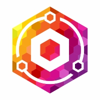 Hexagon Pixel Logo