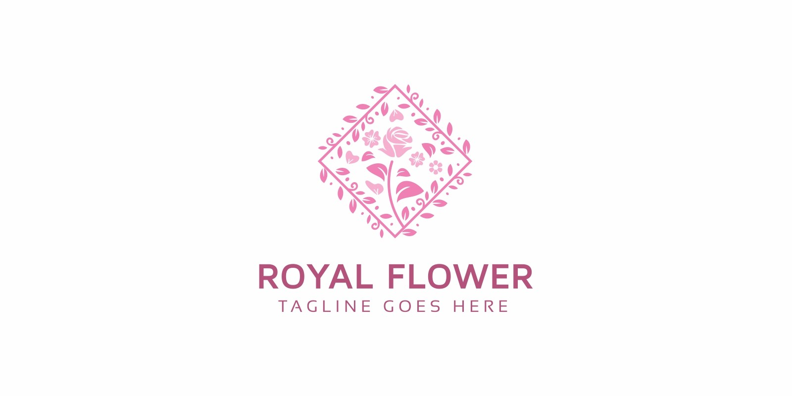 Royal Flower Logo