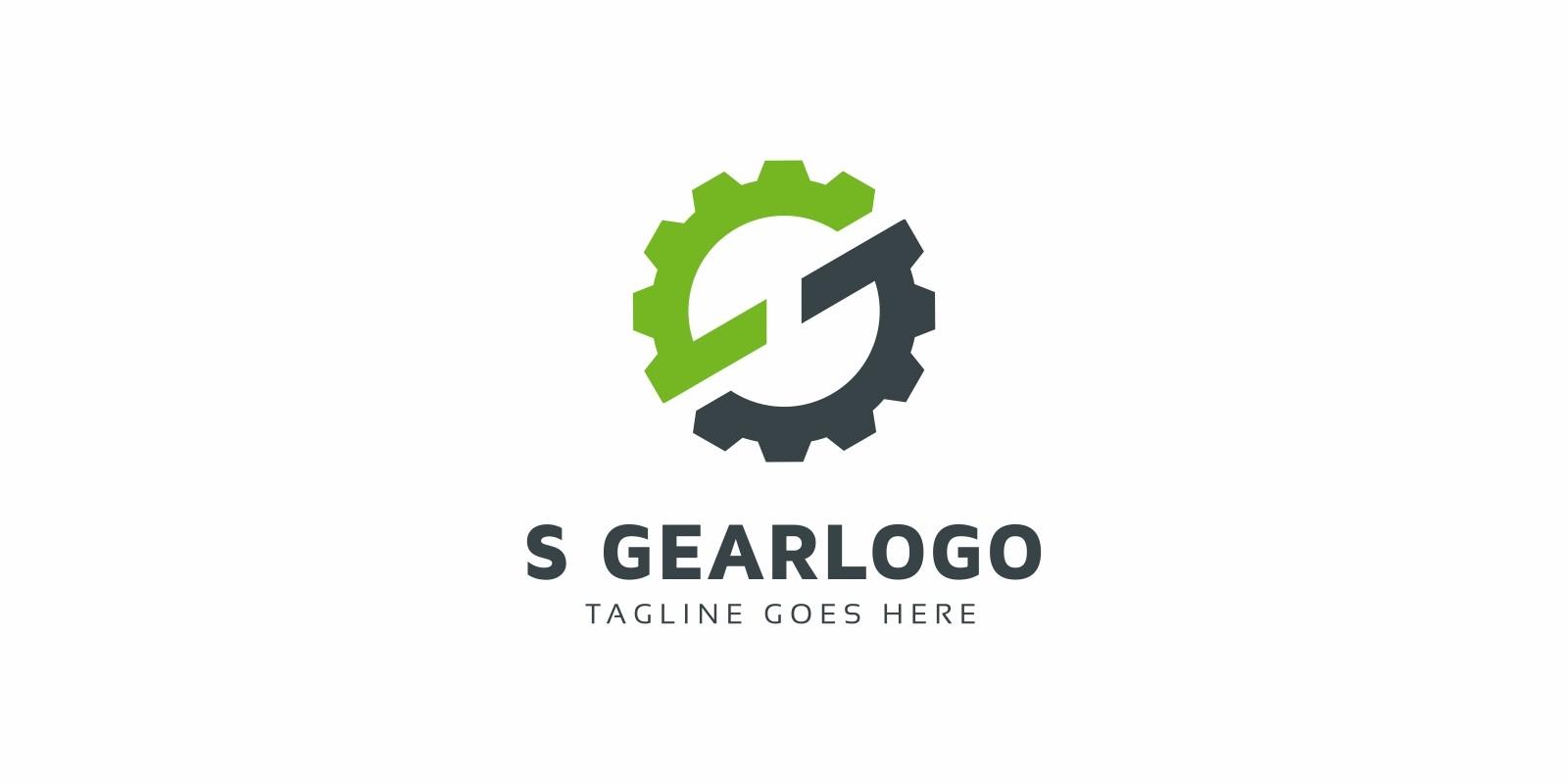 S Letter Gear Logo