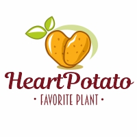 Heart Potato Logo