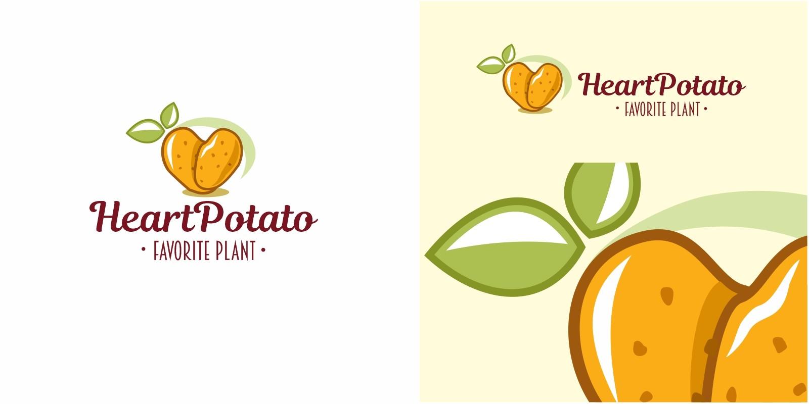 Heart Potato Logo