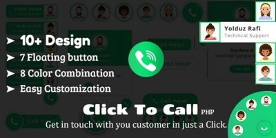Click To Call - Direct Call  PHP Plugin