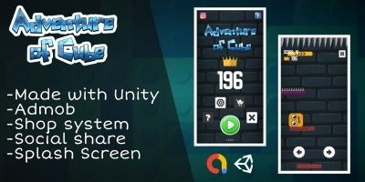 Adventure of cube - Complete Unity Project