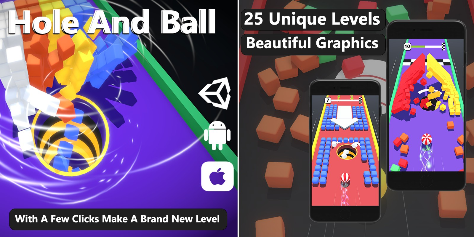 Hole And Ball - Unity Complete Project