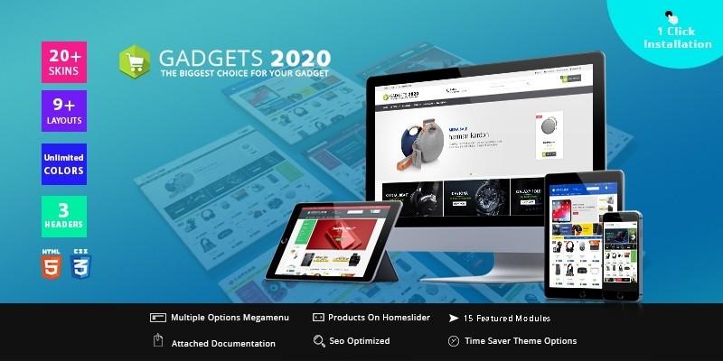 Gadgets Electronic store - PrestaShop Theme
