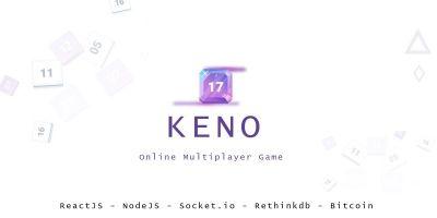 Keno - Online BTC Game NodeJS