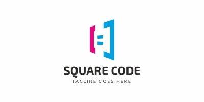 Square Code Logo