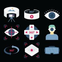440 Virtual Reality Vector icons